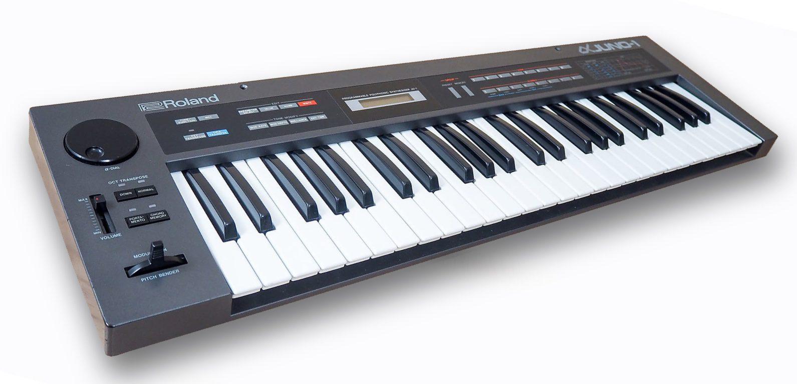 Roland Alpha Juno1 + 2 + PG300