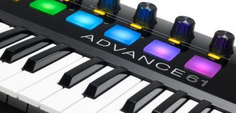 Top News: Akai Advance, Controller Keyboards