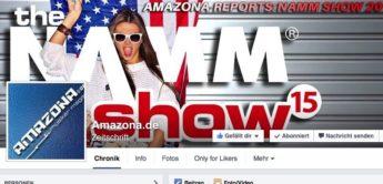 AMAZONA.de auf Facebook mit AKTIONEN und NEWS