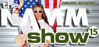 REPORT: NAMM SHOW 2015 – DRUMS