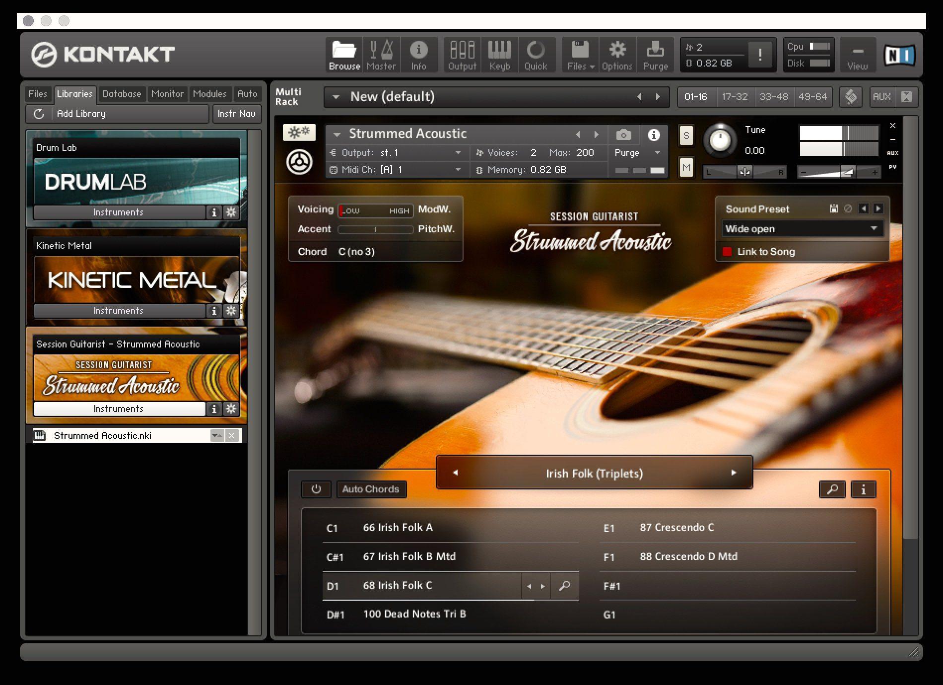 Test: Native Instruments Strummed Acoustic, Session Gitarrist ...
