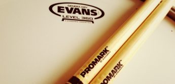 TEST: Evans 360 Snare-Drum Felle, Pro Mark Select Balance Sticks