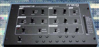 Test: Moog Werkstatt-01, DIY Synthesizer