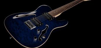 Test: Harley Benton TE-90QM HH Trans Blue, E-Gitarre