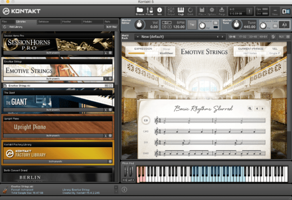 Emotive Strings & Kontakt