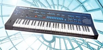 Blue Box: Sequential Circuits Prophet VS, Hybrid Synthesizer