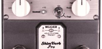 Test: Mooer ShimVerb Pro Digital Reverb, Effektgerät für Gitarre
