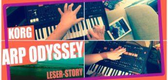 Korg ARP Odyssey – das Remake des Jahres 2015!