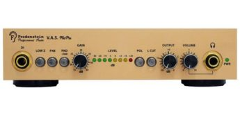 Test: Fredenstein V.A.S. Mic Pre, Mikrofonvorverstärker