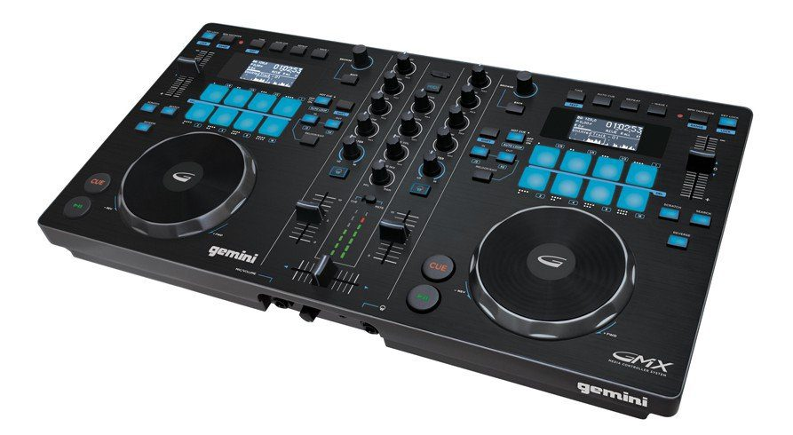 test gemini gmx dj controller usb player. Black Bedroom Furniture Sets. Home Design Ideas