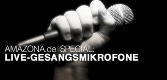 Special: Live-Gesangsmikrofone, Teil 1 bis 100,- Euro