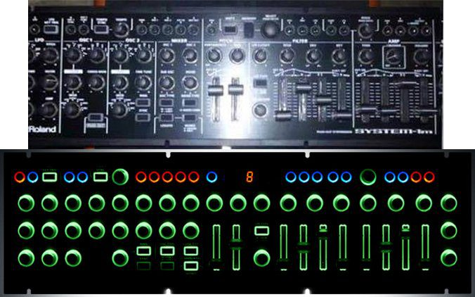 Top News Roland System 1m Semi Modularer Synthesizer