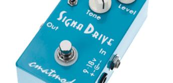Test: Cmat Mods Sigma Drive, Effektgerät für Gitarre