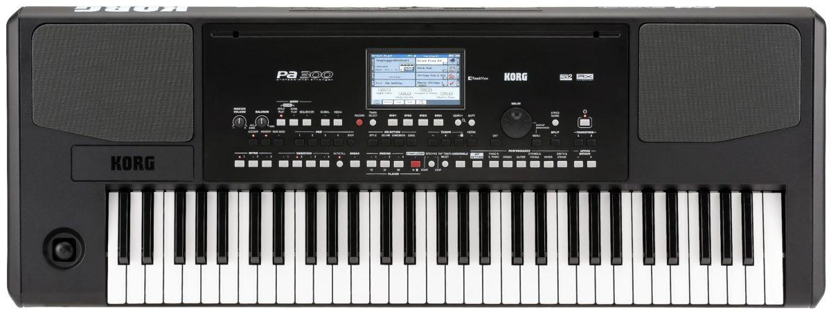 Korg Pa 300 entertainer keyboard