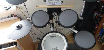 Roland HD-3 – Leichte V-Drums mit starker Leistung