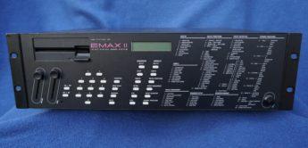 Green Box: E-Mu EMAX II, Sampler & Synthesizer