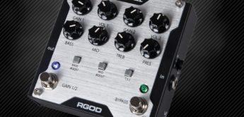 Test: Randall RGOD, Verzerrerpedal für Gitarre