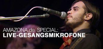Special: Live-Gesangsmikrofone, Teil 2, 100,- bis 300,- Euro