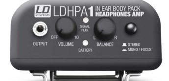 Top News: LD Systems HPA 1, Kopfhörerverstärker