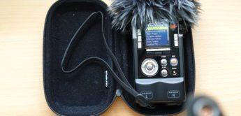 Olympus LS-100 – Sehr guter Klang, 8 Spuren, dusseliges Menü