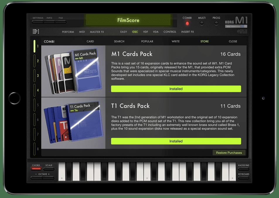 Test: Korg M1 nun als iM1 Synth-App für iOS - AMAZONA de