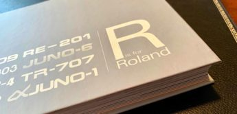 Buch: R is for Roland – Kult-Synthesizer & Drumcomputer
