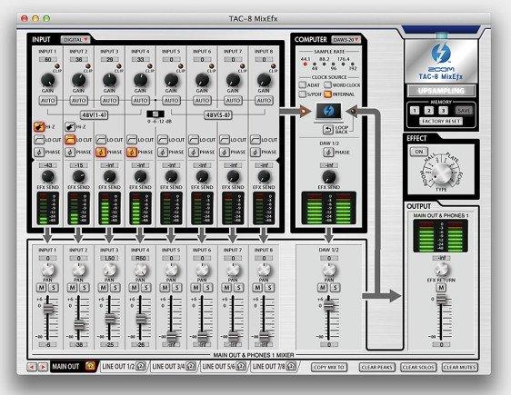 Die TAC-8 MixEfx