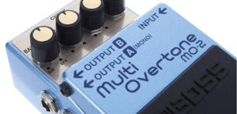 Test: BOSS MO-2 Multi Overtone, Effektgerät für Gitarre