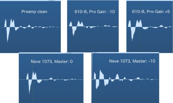 Bassdrum-Unison-Transientenvergleich