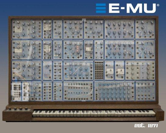 A dream of a Modular System with aluminium-potis.<br /> The E-MU System, a special edition with transparent covers.