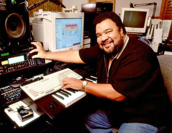 George Duke at the Darwin HD Recording System.