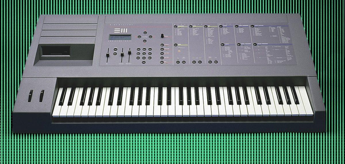 Emulator III (1987 bis ?): 16bit, 44.1 kHz, Speicher: 4 MegaByte.