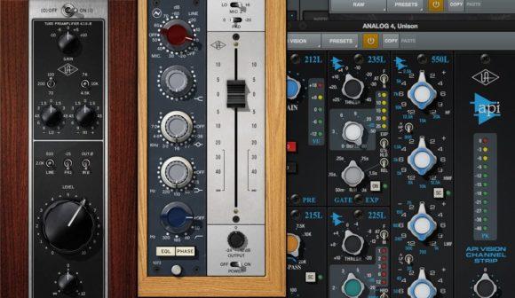 Unison Preamps von Universal Audio, Neve und API