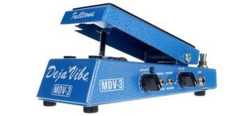 Test: Fulltone Mini Deja Vibe MDV-3, Effektpedal