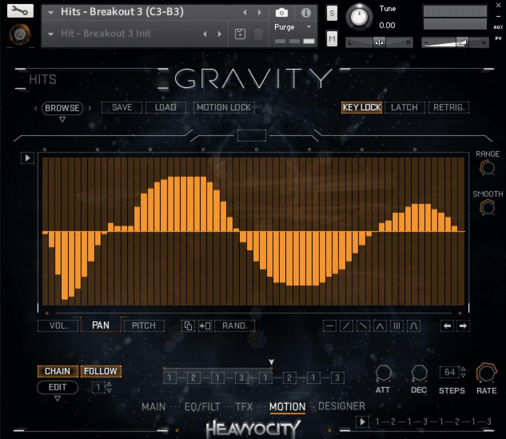 Test: Heavyocity Gravity, Sound Library