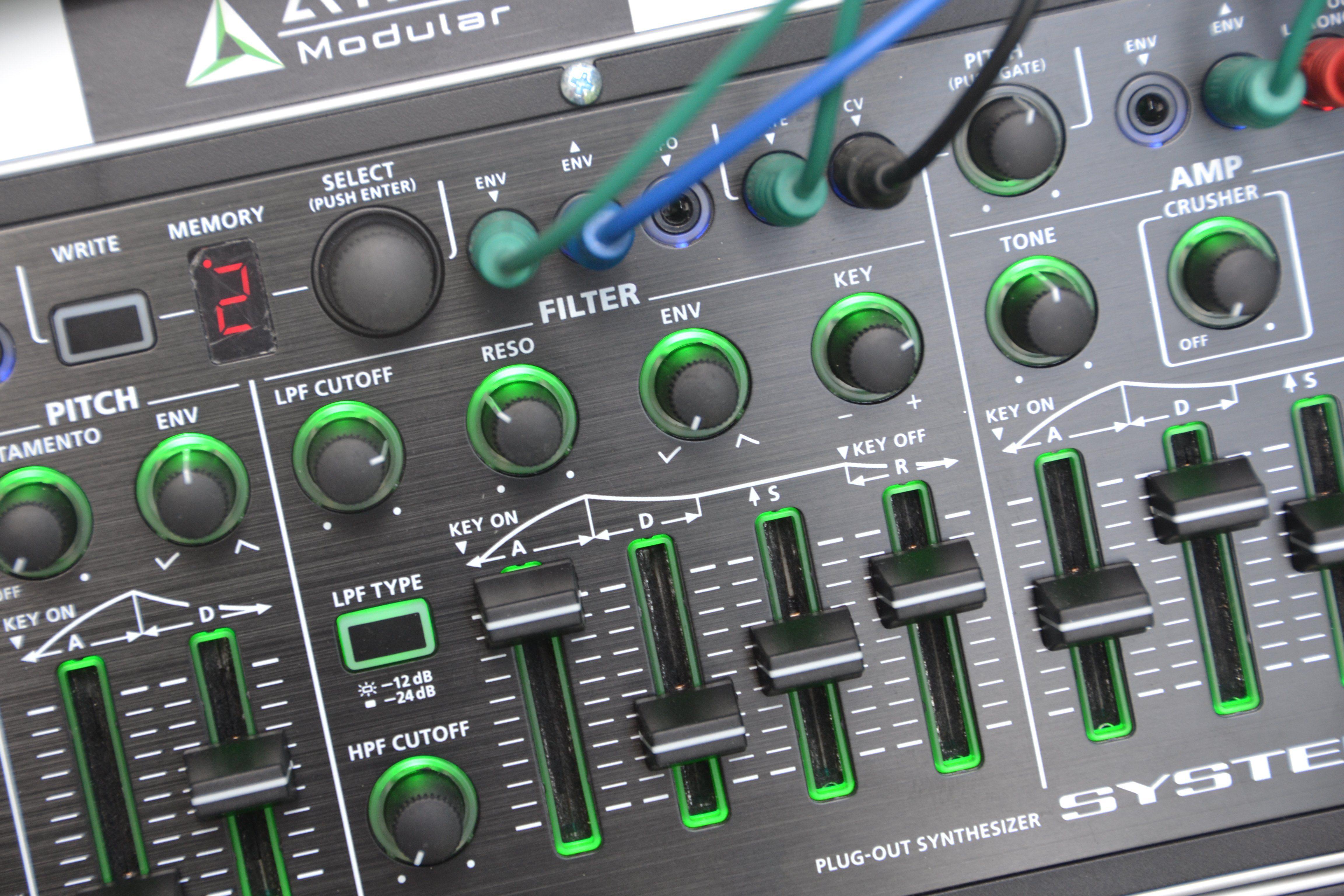 Test Roland System 1m Va Synthesizer Amazona De