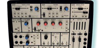 Blue Box: EMS-Rehberg Synthi Logik, Modularsystem