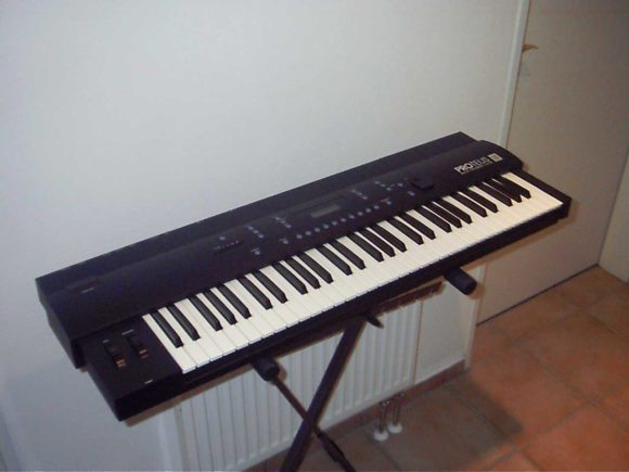 "The Proteus as keyboard with the name ""MPS""."