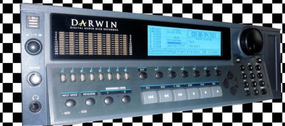 E-Mu Darwin 8-line HD-Recorder in EMU IV-case.