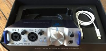 Test: Zoom TAC-2R, Thunderbolt Audiointerface