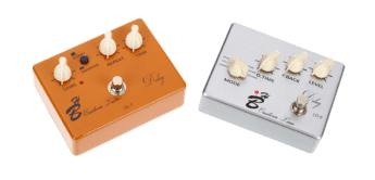 Vergleichstest: Harley Benton Custom Line DL-5 und LD-5, Echopedale für Gitarre