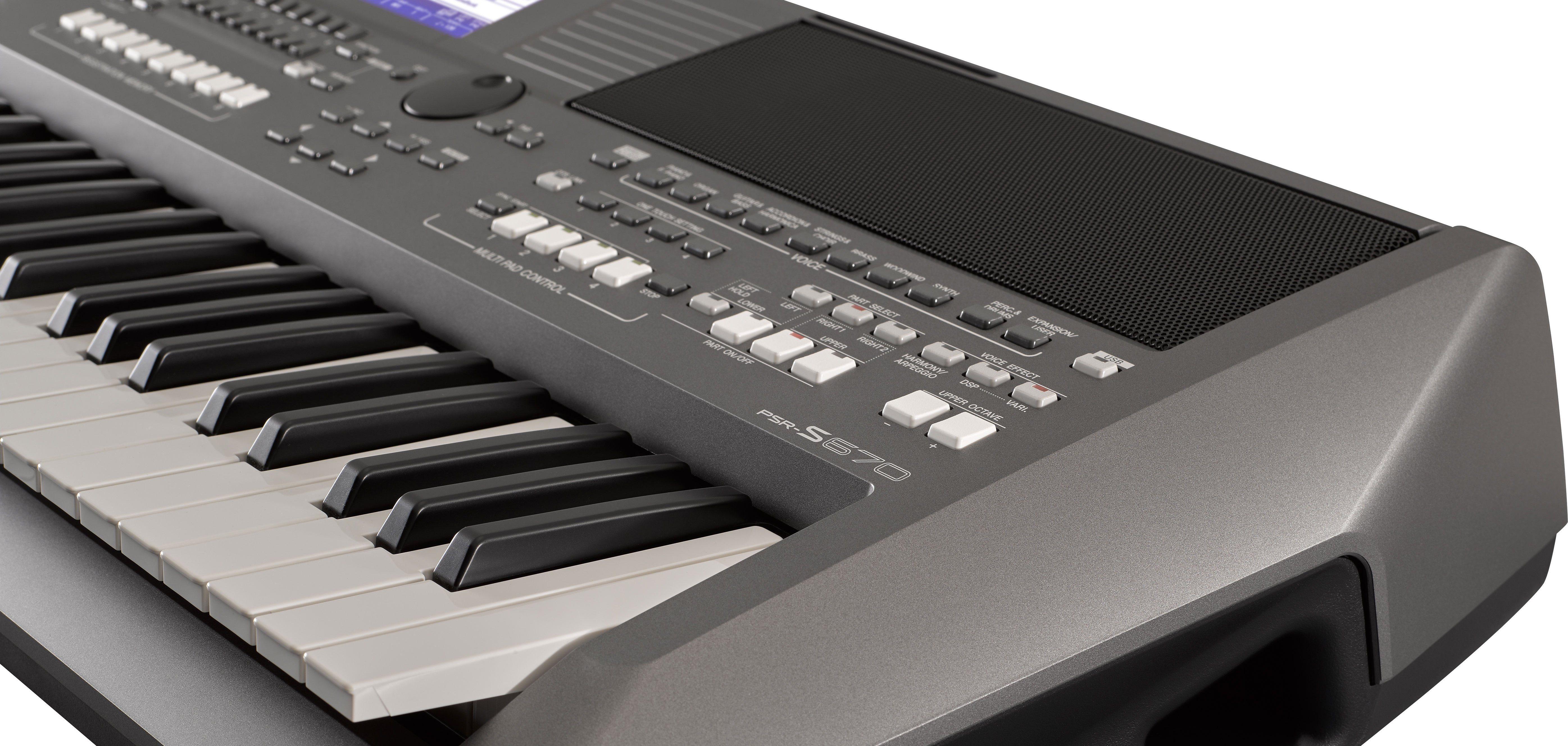 test yamaha psr s670 entertainer keyboard seite 5 von. Black Bedroom Furniture Sets. Home Design Ideas