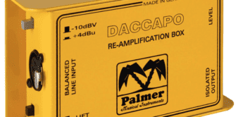 Test: Palmer Daccapo, Reamping Box