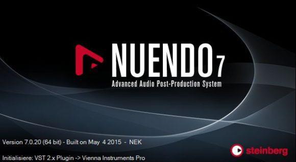 So startete Nuendo 7