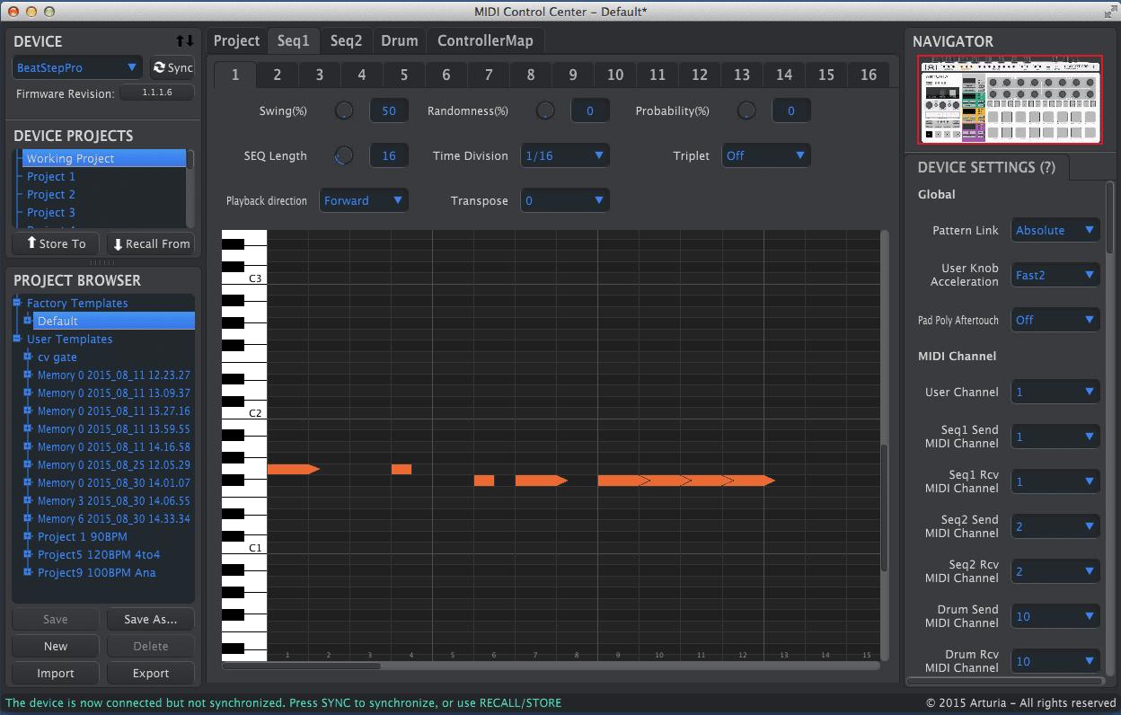 Test Arturia Beatstep Pro Step Sequencer Amp Midi