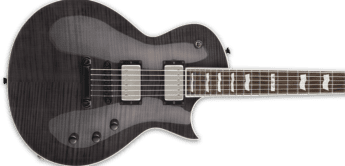 Test: ESP E-II Eclipse FM STBLK, E-Gitarre