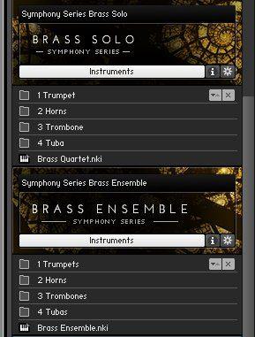 Alle Instrumente der Collection im Überblick