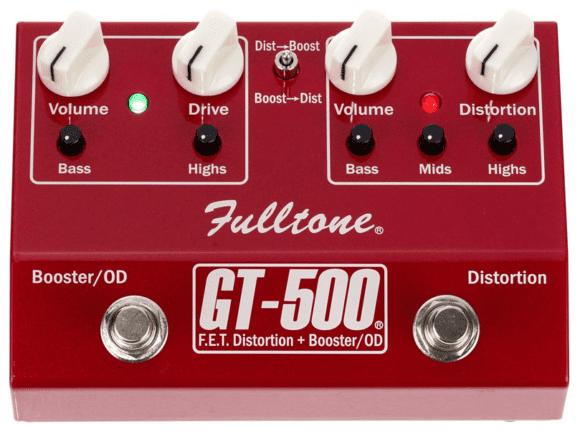 Fulltone GT-500 Oberseite Vorne