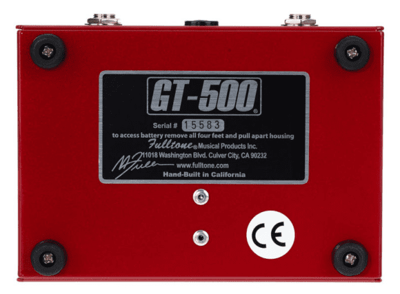 Fulltone GT-500 Unterseite
