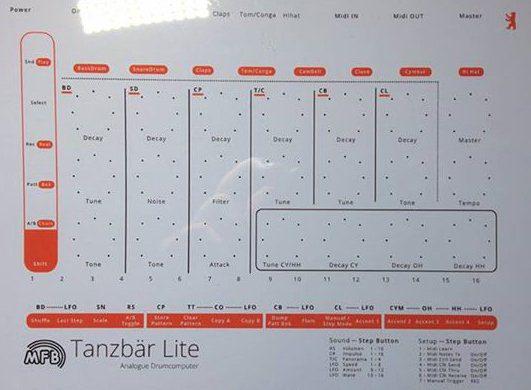 MFB Tanzbear lite sheet